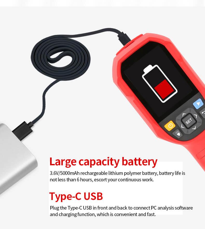 UTi260-UTi85A Thermal Imager Camera-Industrial Thermal Camera