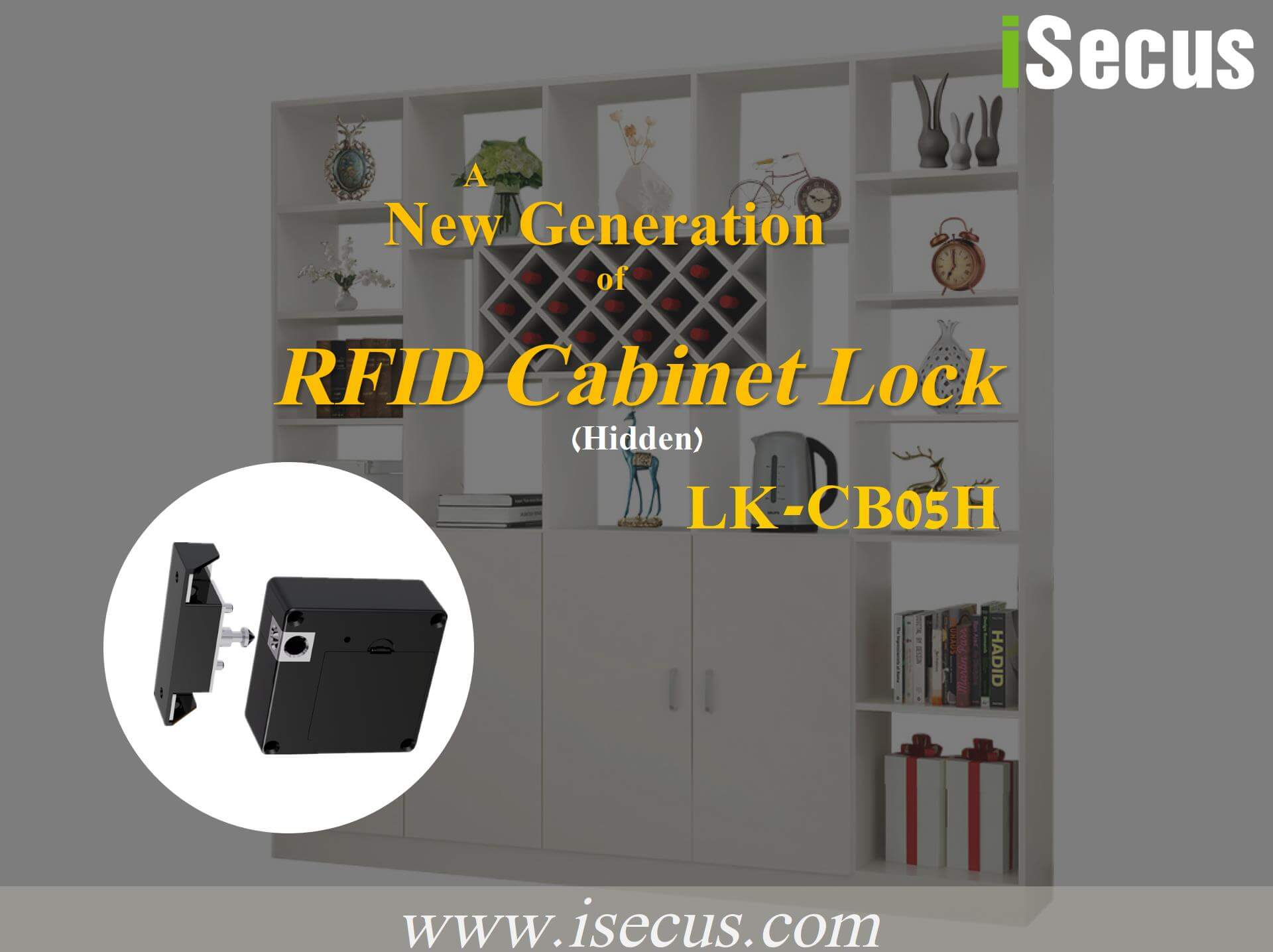 Hidden RFID Cabinet Lock Demonstration-P01