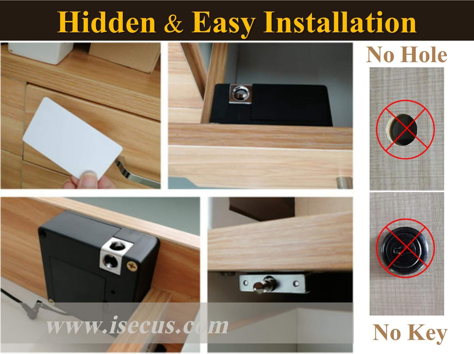 Hidden RFID Cabinet Lock Demonstration-P02