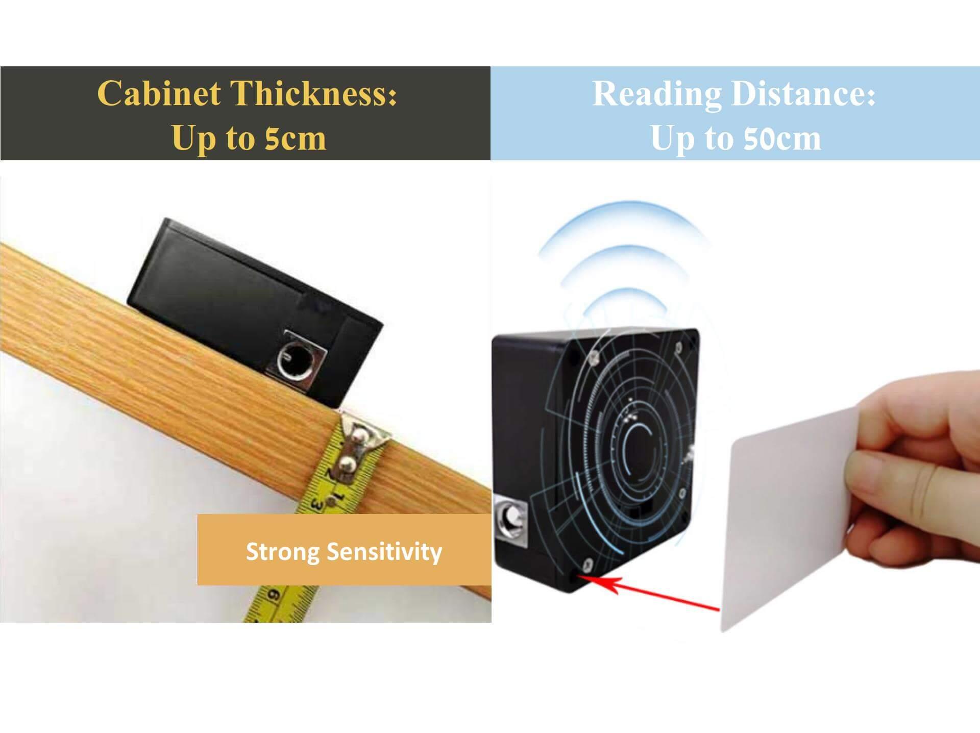 Hidden RFID Cabinet Lock Demonstration-P05