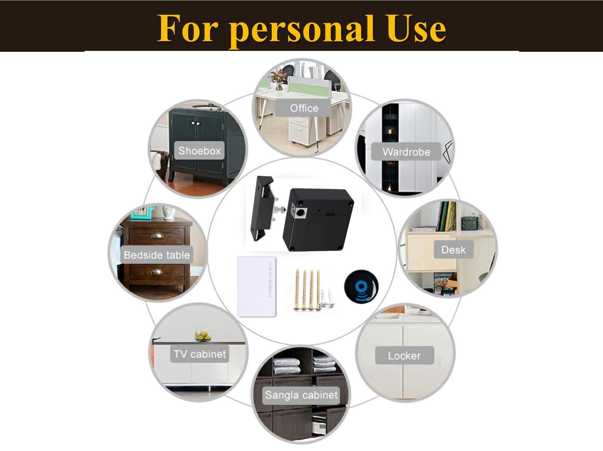 Hidden RFID Cabinet Lock Demonstration-P08