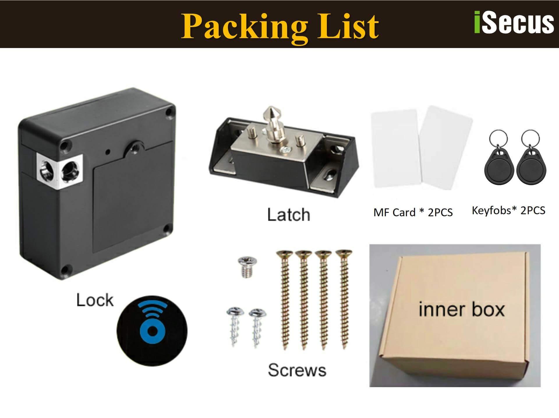 Hidden RFID Cabinet Lock Demonstration-P10
