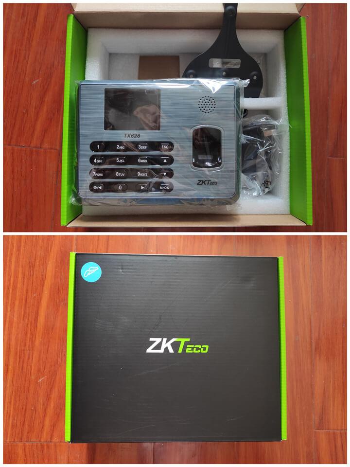 ZKTeco TX628 Fingerprint Time Attendance Packing-s